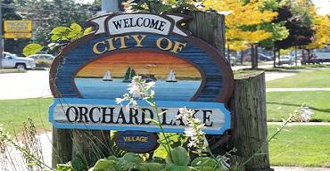 orchard lake michigan